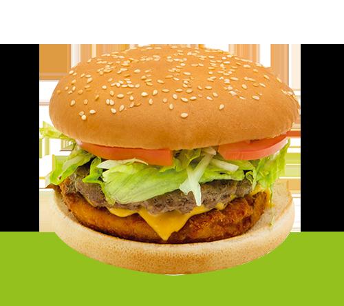 Chickenbeef Burger
