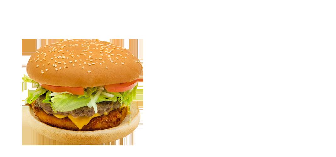 Menu Chickenbeef Burger